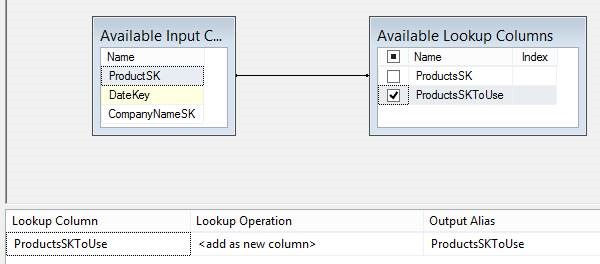 SSIS (SQL Server Integration Services) – Using the Lookup