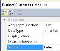 SSAS – Using the SUM Function within a Measure Group to