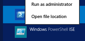 Automating running PowerShell script which required