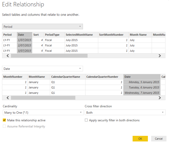 Create Dynamic Periods for Fiscal or Calendar Dates in Power BI