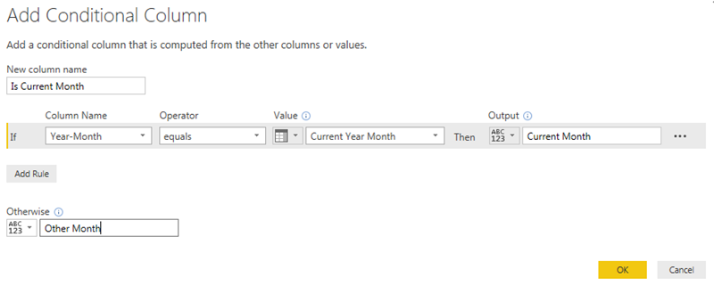 Power BI – Getting your report to always filter this month's